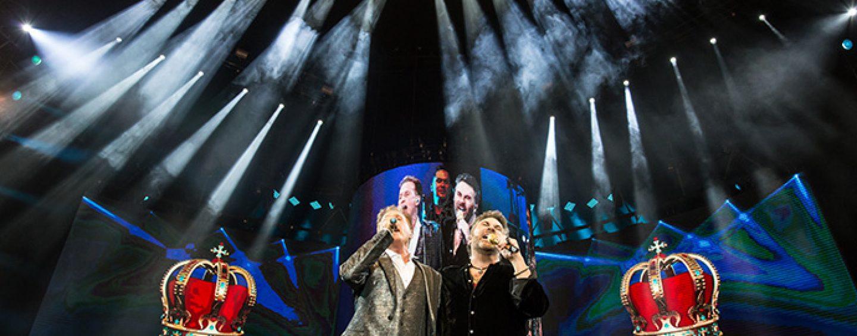 Los paneles de AV2X de ADJ también acompañan a Emmanuel y Mijares en su gira