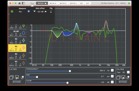 NEWTON de Outline brinda nueva versión de firmware y software