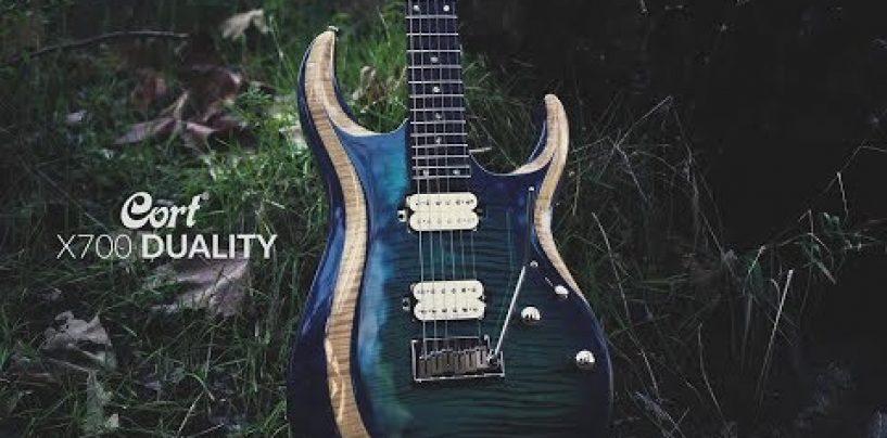 Cort presenta la guitarra X700 Duality