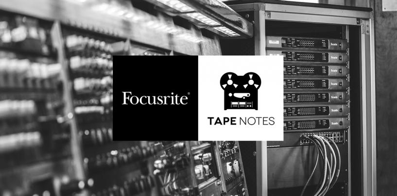 Focusrite se asocia con Tape Notes: la historia detrás del álbum