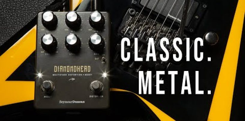 Diamondhead es el nuevo pedal de Distorsión + Boost de Seymour Duncan