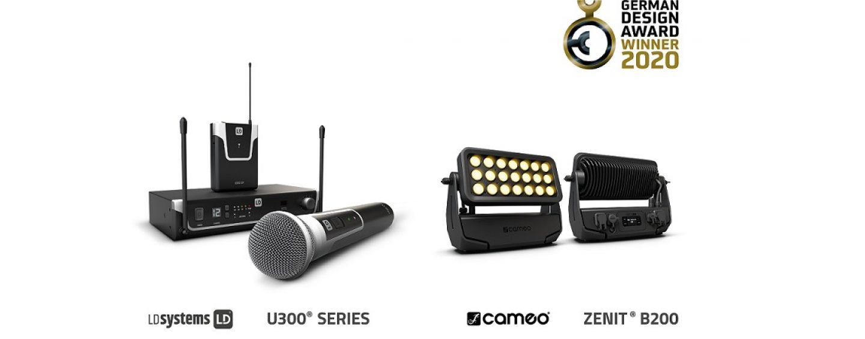 German Design Award 2020 premió a productos de Cameo y LD Systems