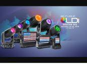 LDI 2019: Elation Professional exhibirá sus nuevas luminarias Proteus, Artiste, Smarty, Fuze y Paladin