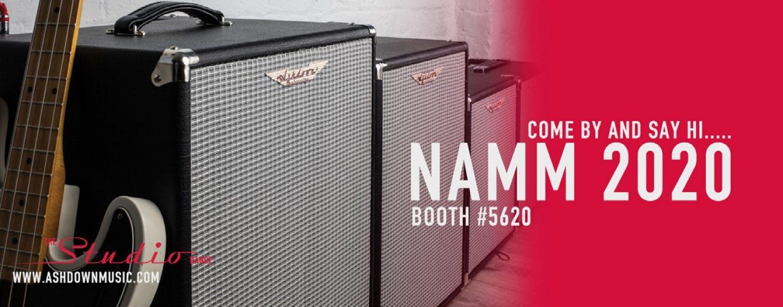NAMM 2020: Ashdown lanzará oficialmente la Studio Range