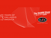 DAS Audio America celebra sus 25 años en NAMM Show 2020
