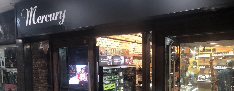 Mercury Music distribuye marcas en Chile y abre tiendas al público