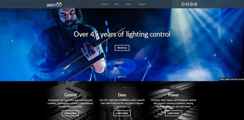 Zero 88 lanzó nuevo sitio web