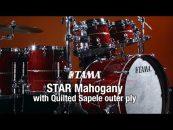Tama trae un poco del espacio con su STAR drum kits