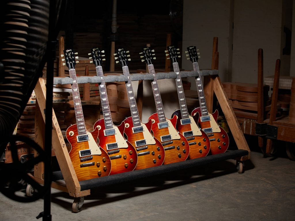 Gibson Les Paul Custom Shop Anniversary x