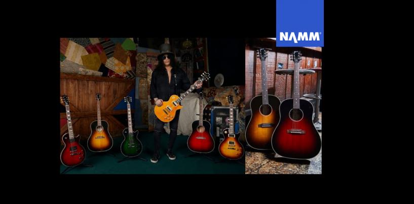 NAMM 2020: Gibson presenta modelos de Slash y viaja a los 70's