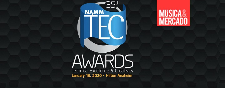 NAMM 2020: Ganadores de los NAMM TEC Awards