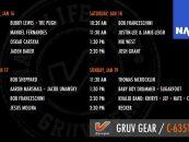 "NAMM 2020: Nik West, Oskar Cartaya & ""Sugarfoot"" en el stand de Gruv Gear"