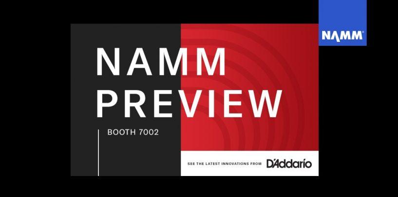 NAMM 2020: Las últimas noticias de D'addario