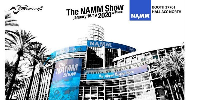 NAMM 2020: Powersoft mostrará su última actualización de ArmoníaPlus