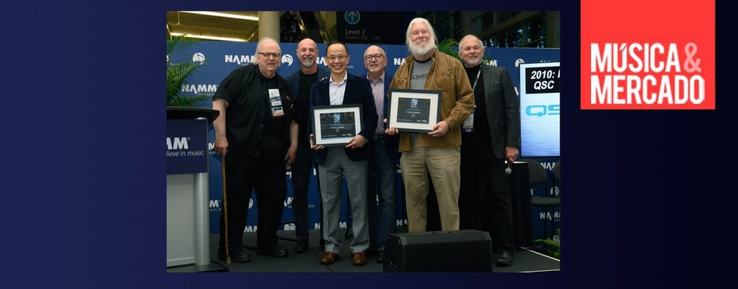 La K Series de QSC entra al NAMM TECnology Hall of Fame