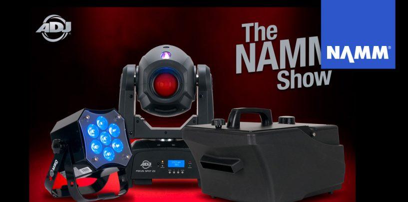 NAMM 2020: MDF, Entour Chill e Element ST HEX son lo nuevo de ADJ