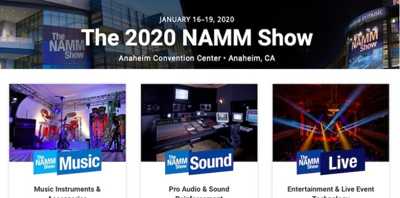 NAMM Show 2020 comienza hoy