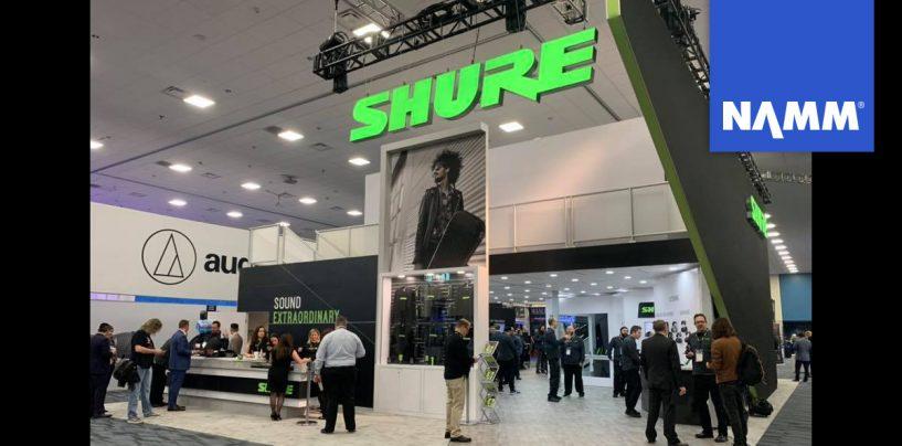 NAMM 2020: Los auriculares Aonic y el sistema BLX288 de Shure debutan en la feria
