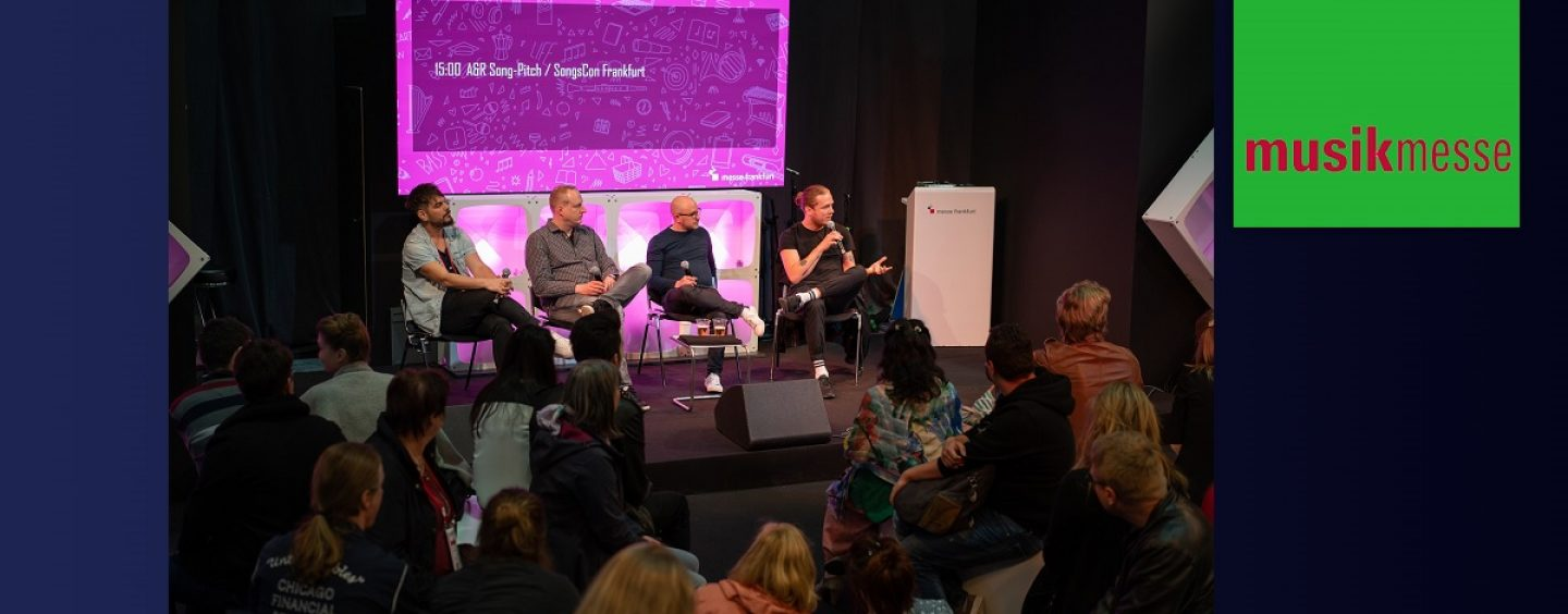 Musikmesse 2020: Los European Songwriting Awards y SongsCon se encuentran en Frankfurt