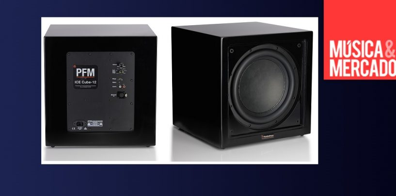 Carl Tatz Design presenta el nuevo subwoofer PFM ICE Cube-12