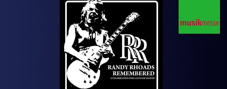 Conozca la alineación para Randy Rhoads Remembered