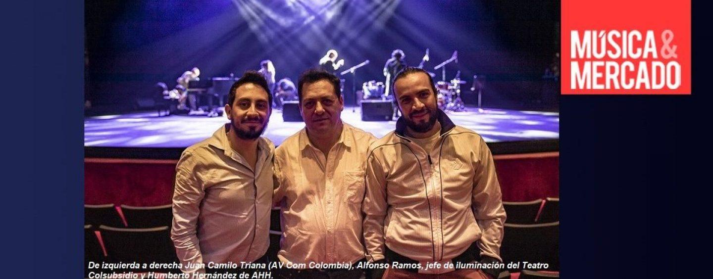 Teatro Colsubsidio en Bogotá cuenta con Robe