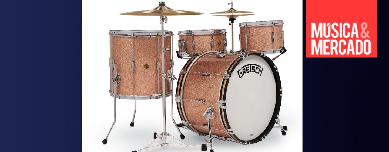 Gretsch rediseñó su Bass Drum Rail Mount