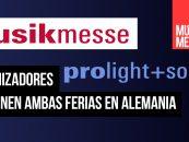 Musikmesse y Prolight + Sound posponen su edición de 2020