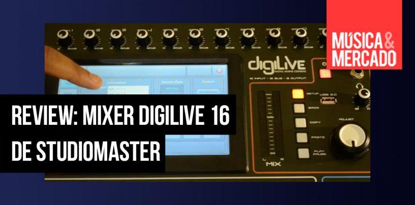 Review: DigiLive 16 de Studiomaster