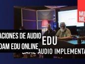 Webinars y videos para aprender con ADAM Audio
