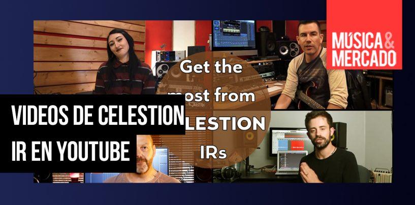 "Celestion lanza videos ""Maximum Tonal Benefit"" en YouTube"