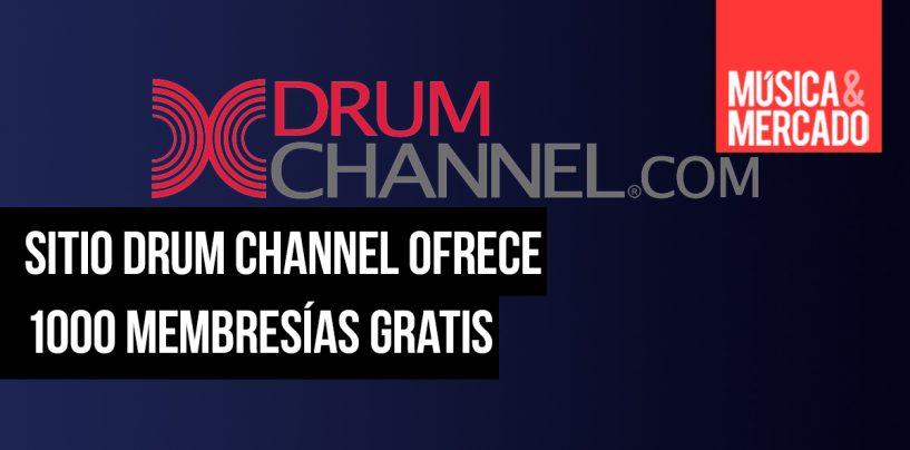 Drum Channel ofrece 1000 membresías gratis