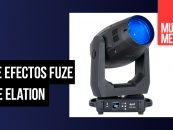 Luz de efectos Fuze SFX de Elation en distribución