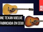 Epiphone Texan vuelve a ser hecha en Estados Unidos