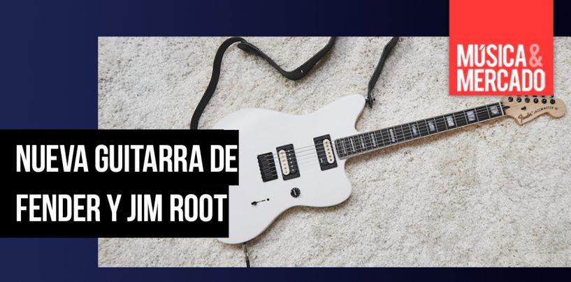 Fender lanza modelo Jim Root Jazzmaster V4