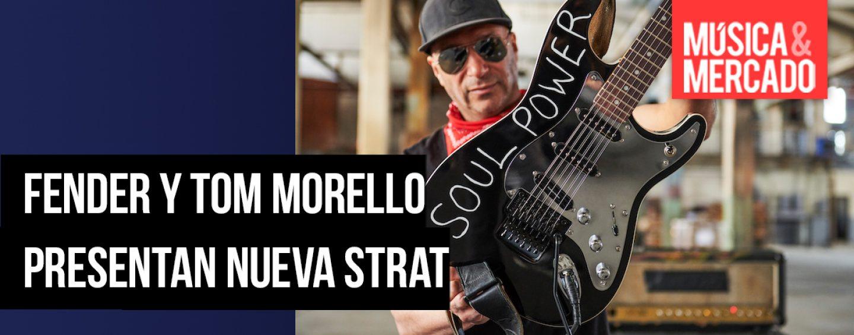 Fender presenta stratocaster con Tom Morello