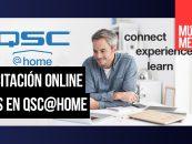 QSC@Home es el programa online de QSC