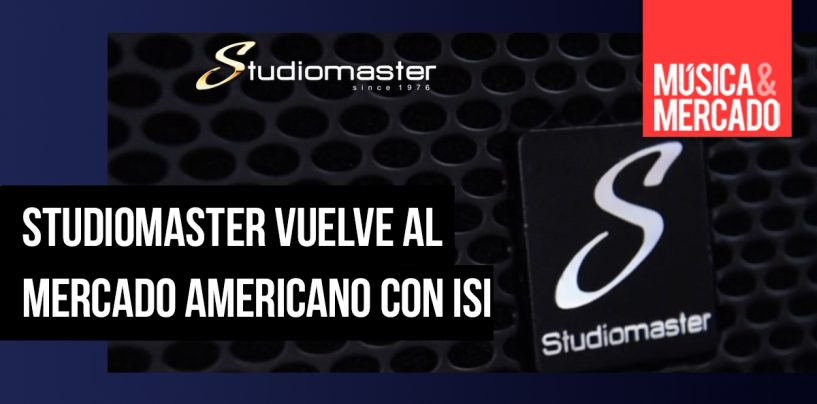Studiomaster crea alianza con ISI en Estados Unidos