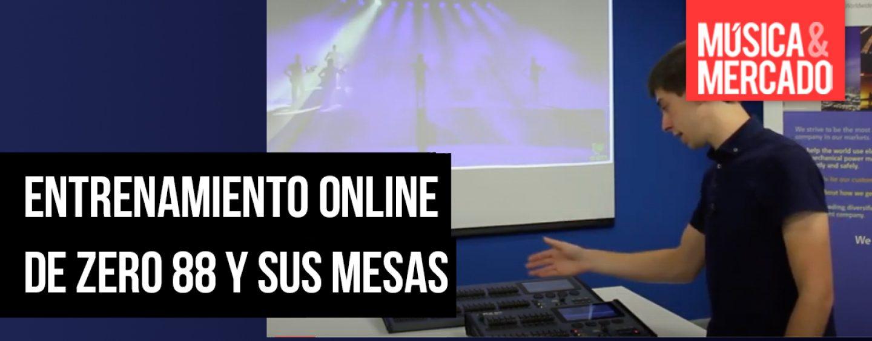 Oportunidades de entrenamiento online con Zero 88