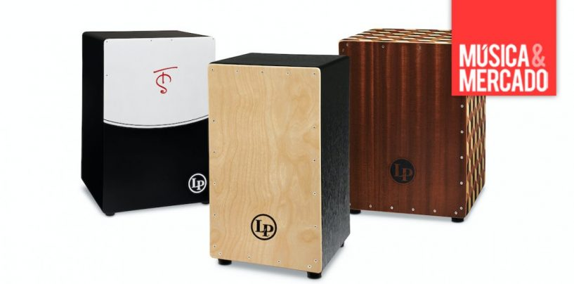 Latin Percussion presenta tres nuevos cajones