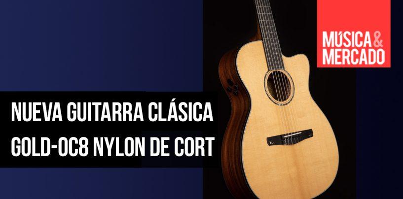 Cort presenta guitarra clásica Gold-OC8 Nylon