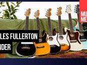 Ukuleles Fullerton de Fender parecen guitarras eléctricas