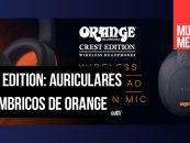 Auriculares Crest son lo nuevo de Orange Amps