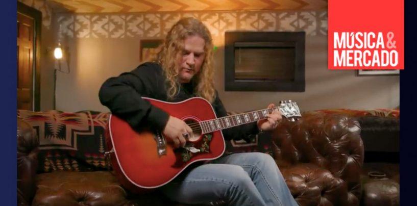 "Gibson introduce guitarra acústica ""Love Dove"""