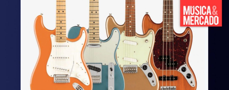 Fender presenta más acabados para la serie Player