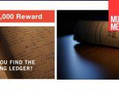 Gibson ofrece recompensa de 59.000 dólares por libro perdido