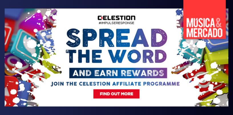 Celestion lanza programa de afiliados