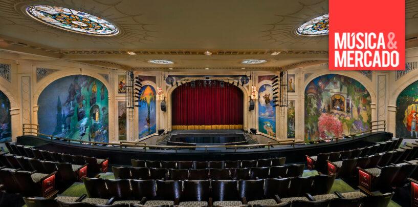 Seguidor Topaze de Robert Juliat instalado en El Teatro