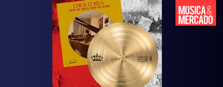 Sabian replica platillo de Chick Corea en edición limitada