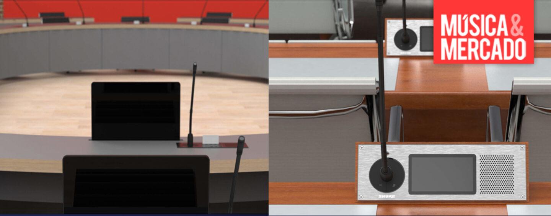 Sistema de conferencia Microflex Complete de Shure puede ser customizado